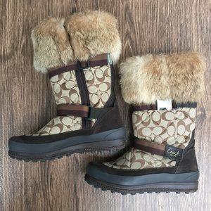 Coach Mariette Winter Boots